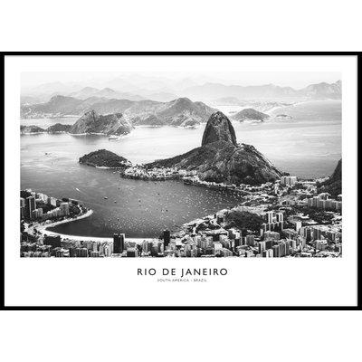 RIO DE JANEIRO - Plakat 50x70 cm