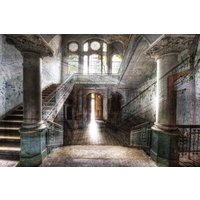 Glassbilde Old hall - 120x80 cm