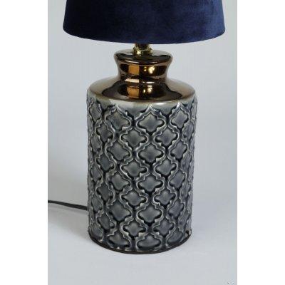 Dream lampefot - keramikk Grå
