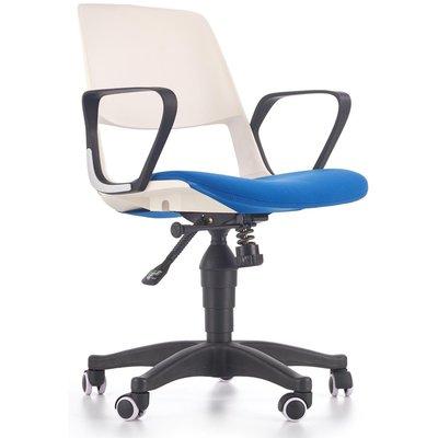 Thorvald kontorstol - Hvit/blå