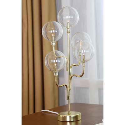 Globe Bordlampe H46 - Messing