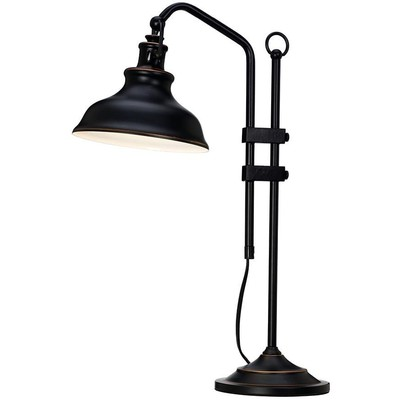 New Haven bordlampe - Svart/antikk