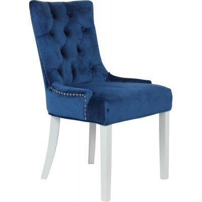 Tuva Decotique stol håndtak - Blå fløyel