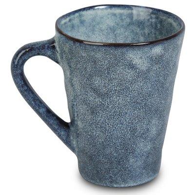 Keramikk krus 6 stk i et sett - Blå