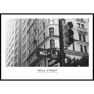 WALL STREET HORIZONTAL - Plakat 50x70 cm