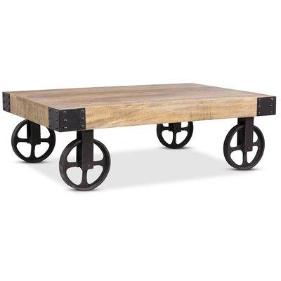 Buffalo sofabord med hjul - Vintage