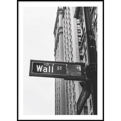 WALL STREET No 4 - Plakat 50x70 cm