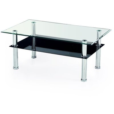 Cissi sofabord - Sort/glass