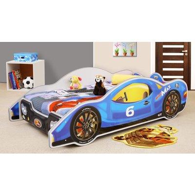 Louie racerbil barnseng - Valgfri farge og størrelse!