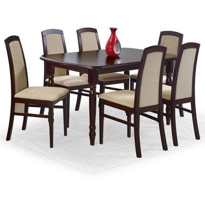 Signe spisebord 150-190 cm - Mørk valnøtt