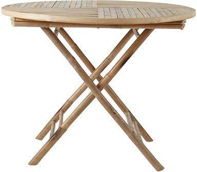 Antonio spisebord bambus - Natur