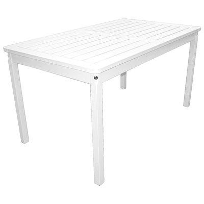 Europe spisebord 135 cm - Hvit