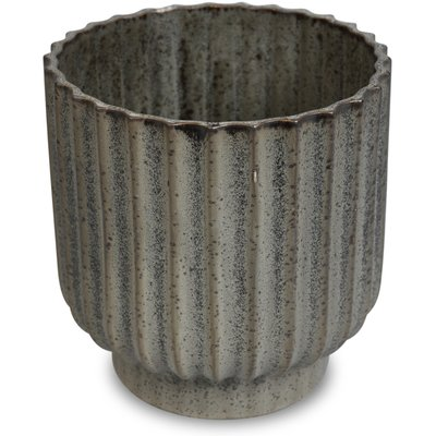 Krukke Dreie H18 cm - Grå