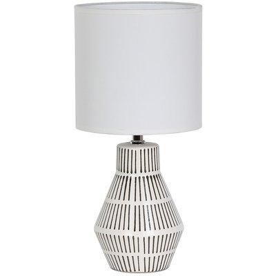 Märtha Bordlampe 41 cm - Hvit